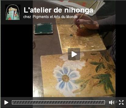 L'atelier de Nihonga - Pigments et arts du monde