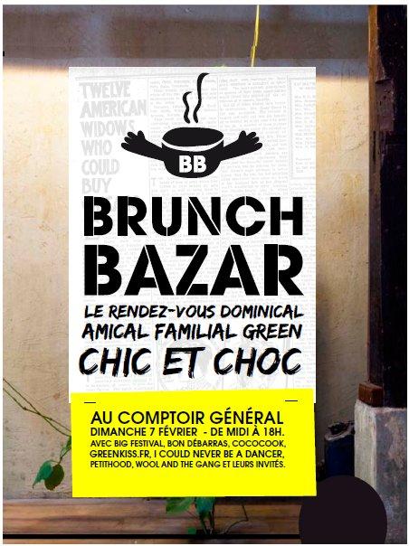 Brunch bazar comptoir general