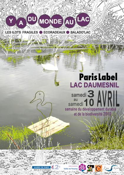 y a du monde au lac daumesnil