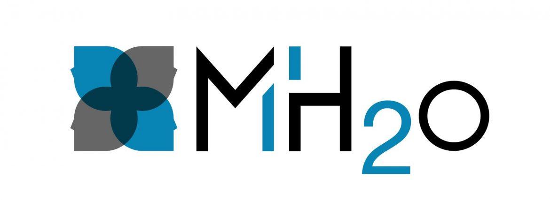 cr ation logo entreprise conseil en ing nierie b timent mh2o. Black Bedroom Furniture Sets. Home Design Ideas