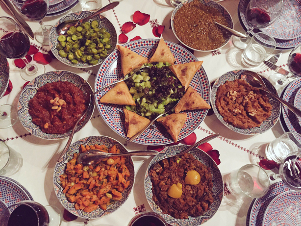 que faire un weekend à Marrakech riad samsli medina gastronomie marocaine noel