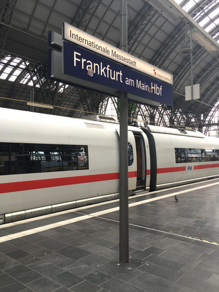 que faire à Francfort - Paris Francfort en train SNCF et deutsche bahn