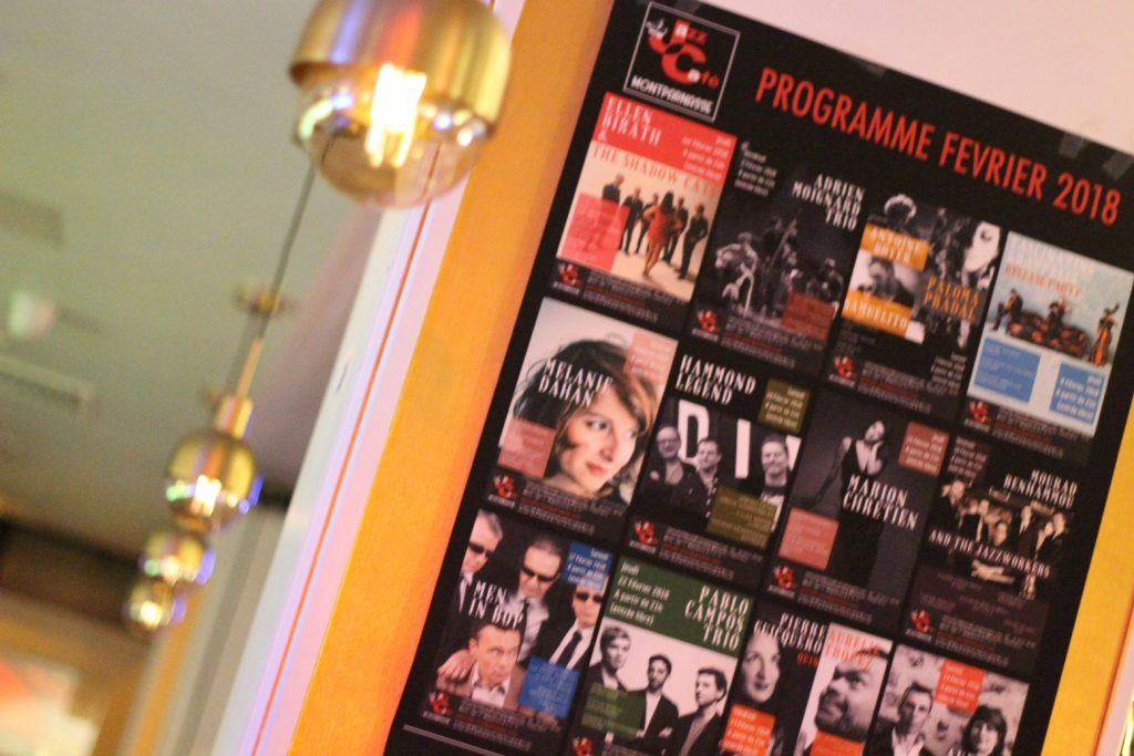 paris jazz cafe montparnasse petit journal programmation