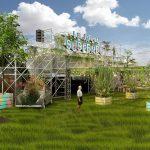 jardin suspendu rooftop Paris 15eme arrondissement Parc Exposition Porte de Versailles