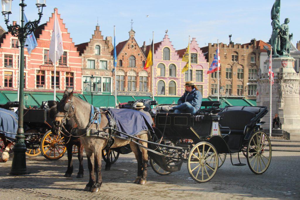 marché de noël Bruges Belgique Allemagne Alsace
