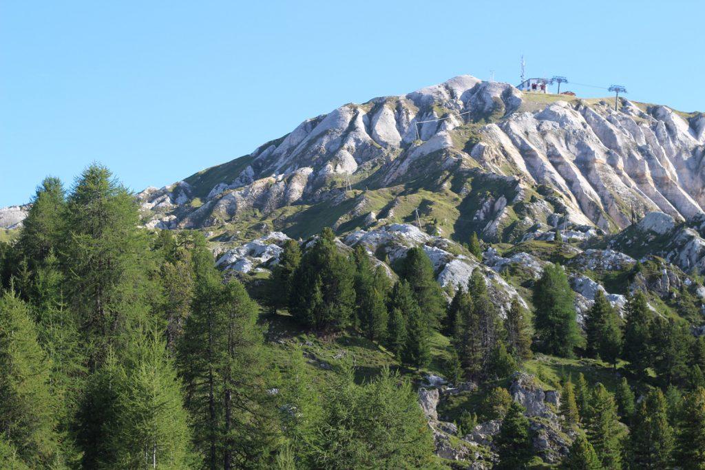 La plagne avec un bébé - vacances d'été à la montagne