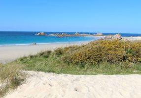 Plouescat - Plage Bretagne - côte des Sables - Finisitère nord - paradis